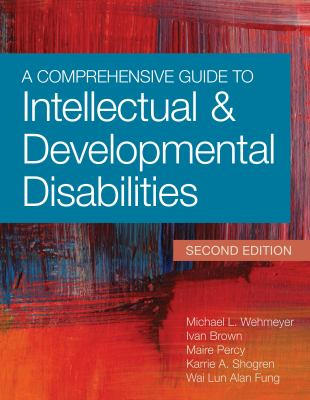 Book cover of A Comprehensive Guide to Intellectual and Developmental Disabilities - click to open book in a new window