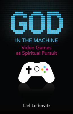 Book Cover - Title in light blue, pixelated text above white image of a handheld controller against a black background.