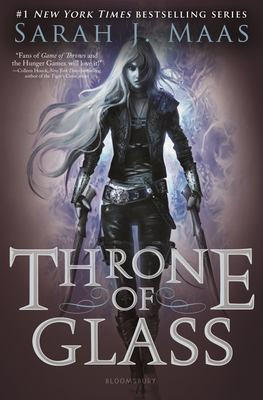 Cover art for Throne of Glass by Sarah J. Maas