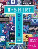 Book cover for T-shirt Quilts Made Easy