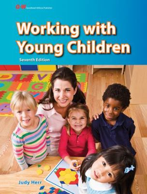 Book cover art for Working with Young Children