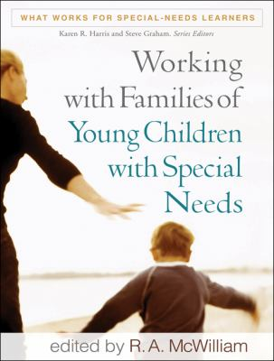 Book cover art for Working with Families of Young Children with Special Needs