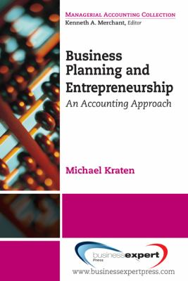 A picture of the front cover of Business Planning and Entrepreneurship.
