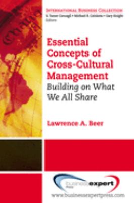 Book jacket for Essential Concepts of Cross-Cultural Management