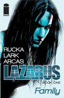 """""""Lazarus, Volume One"""" Cover"""