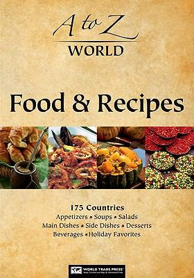 book cover image - 5 photos of different international foods