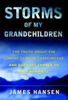 """Storms Of My Grandchildren"" book cover"
