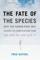 Book cover for The Fate of The Species