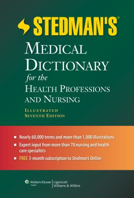 Stedman's Medical Dictionary book cover