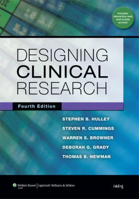 Designing Clinical Research Textbook