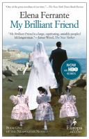 Book cover for My Brilliant Friend by Elena Ferrante