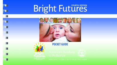 Book cover of Bright Futures: Guidelines Pocket Guide - clickl to open book in a new window