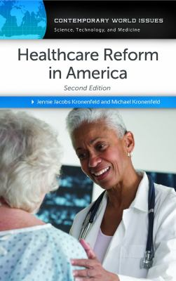Book cover for Healthcare reform in America.
