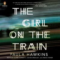 Audiobook cover for The Girl on the Train