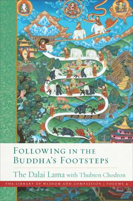 HHDL and Chodron Following Footsteps cover art