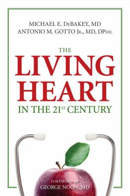 Book cover for The living heart in the 21st century.