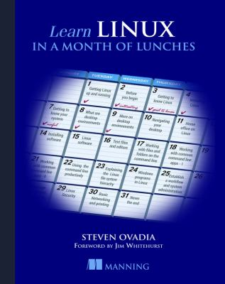 book cover: Learn Linux in a Month of Lunches