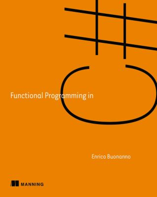 book cover:  Functional Programming in C#