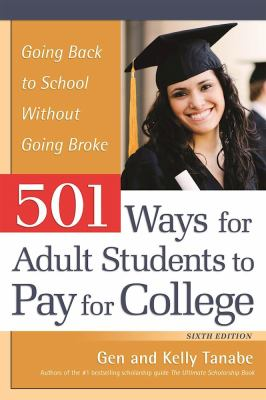 501 Ways for Adult Students to Pay for College Cover Art