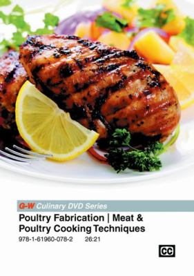 Cover Art for Poultry fabrication/meat & poultry cooking techniques DVD