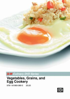 Cover Art for Vegetables, grains, and egg cookery Video
