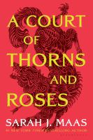 Book cover for A Court of Thorns and Roses