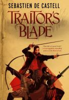 Book cover for Traitor's Blade