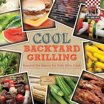 book cover image with photos of multiple grilled foods