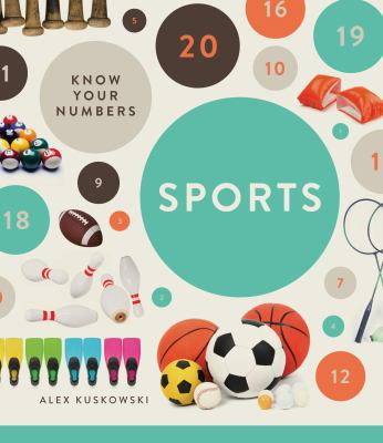 Cover Art features sports balls and circles with numbers.