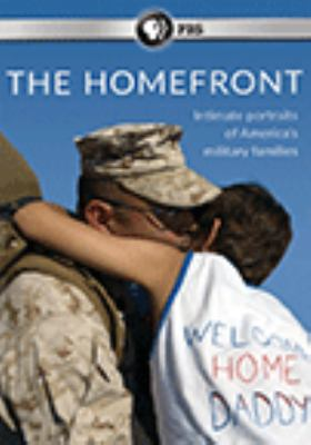 DVD cover for The Homefront: Intimate Portraits of America's Military Families