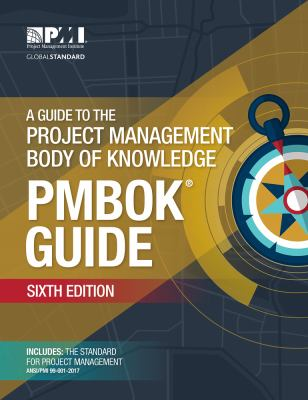 Book cover A Guide to the Project Management Body of Knowledge, 6th ed- click to open in a new window