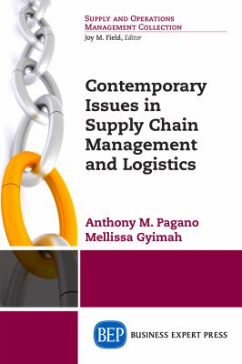 Contemporary Issues in Supply Chain Management and Logistics - Opens in a new window