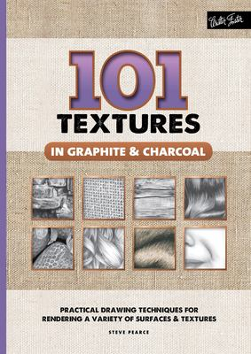101 Textures in Graphite & Charcoal Cover