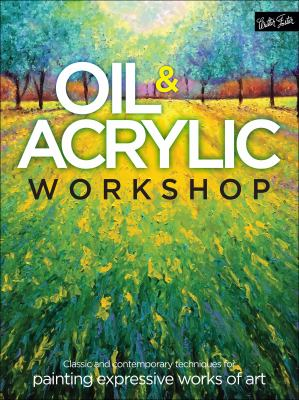 Oil ad Acrylic Workshop Book Cover