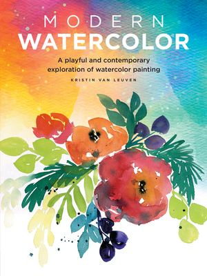 Modern Watercolor Book Cover