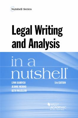 Link to Legal Writing and Analysis in a Nutshell