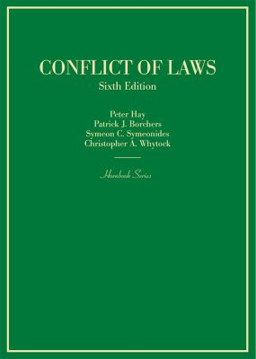 Link to Conflict of Laws (Hornbook)