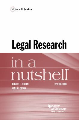 Link to Legal Research in a Nutshell