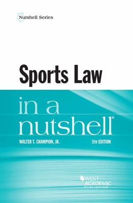 Link to Sports Law in a Nutshell