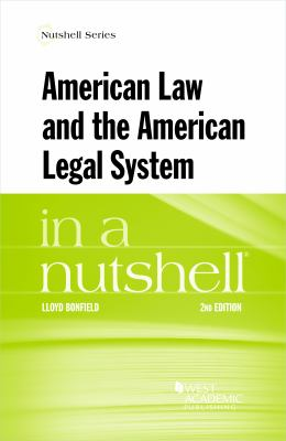 Link to American Law and the American Legal System in a Nutshell