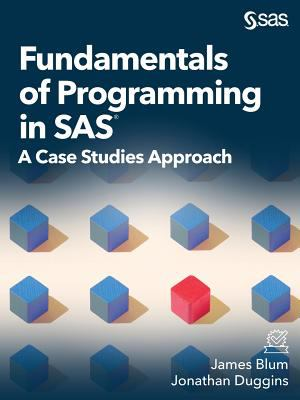 book cover: Fundamentals of Programming in SAS