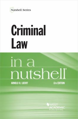 Link to Criminal Law in a Nutshell