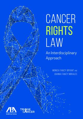 Cancer rights law book cover