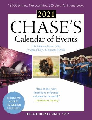 Chase's ... calendar of events.