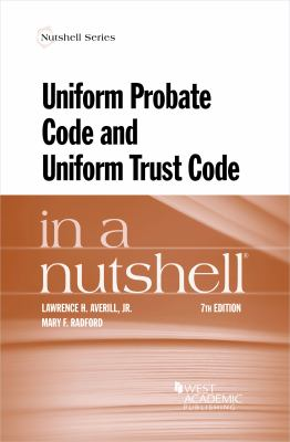 Link to Uniform Probate Code and Uniform Trust Code in a Nutshell