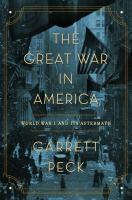 The Great War in America book cover