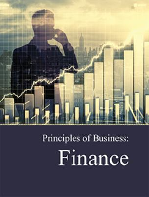 Front cover art for the book Principles of business. Finance by Richard Wilson, PhD