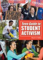 Teen Guide To Student Activism by Kallen, Stuart A. © 2019 (Added: 10/9/19)