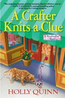Crafter Knits a Clue book cover