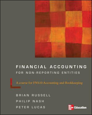Financial accounting for non-reporting entities : a course for FNS10 accounting and bookkeeping